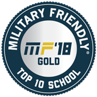 york college has been certified military friendly 2018