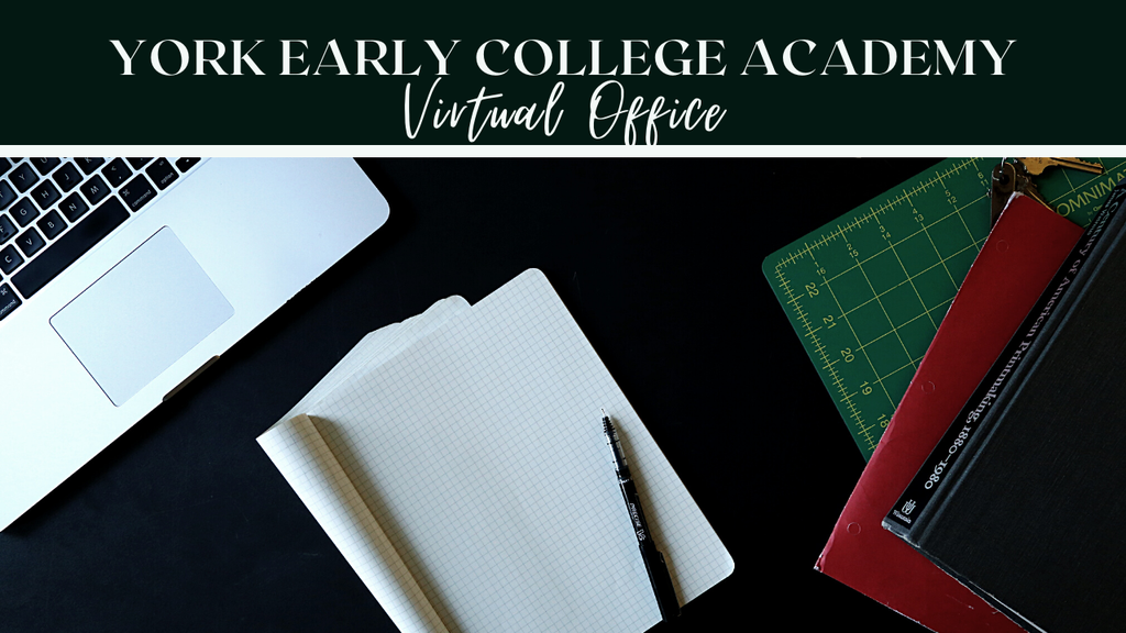 Graphic advertisement for the YECA Virtual Office