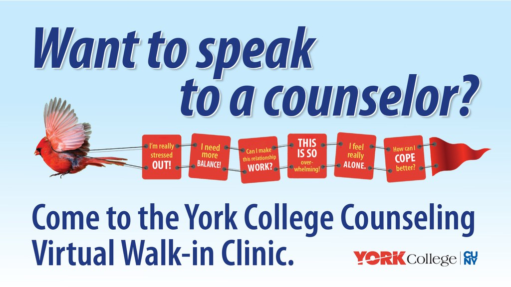 Counseling Center Virtual Walk-in Clinic