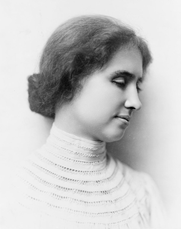 (June 27, 1880 – June 1, 1968) Helen Keller is an American author and educator who was blind and deaf.Keller learned some extraordinary skills that thought her how to live life. She won admission to Radcliffe College in 1900 and graduated cum laude in 1904. She wrote of her life in several books.