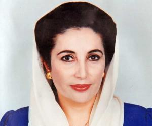 (June 21, 1953 – December 27, 2007) Benazir Bhutto was a Pakistani politician who became the first woman leader of a Muslim nation in modern history. She was self-imposed and spent severalyears being exiled in Britain and Dubai. She still continued to direct her party from abroad. When She returned to Pakistan with plans to participate in the 2008 general election but was killed during an attack at a PPP rally in late 2007.