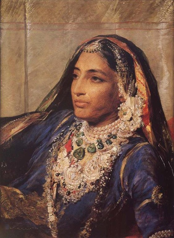 """(1817 – 1863) Was regent of the Sikh Empire from 1843 until 1846.She was renowned for her beauty, energy, and strength of purpose and waspopularly known as Rani Jindan, but her fame is derived chiefly from the fear she engendered in the British in India, who described her as """"the Messalina of the Punjab"""", a seductress too rebellious to be controlled."""