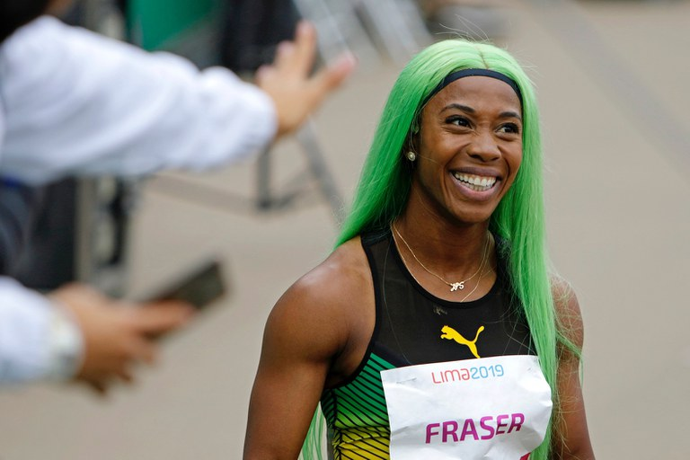 """(born December 27,1986) A Jamaican track and field sprinter. Born and raised in Kingston, Jamaica, Fraser-Pryce ascended to prominence in 2008 when at 21 years old, the relatively unknown athlete became the first Caribbean woman to win 100 m gold at the Olympics.World Athletics calls her """"the greatest female sprinter of her generation"""""""