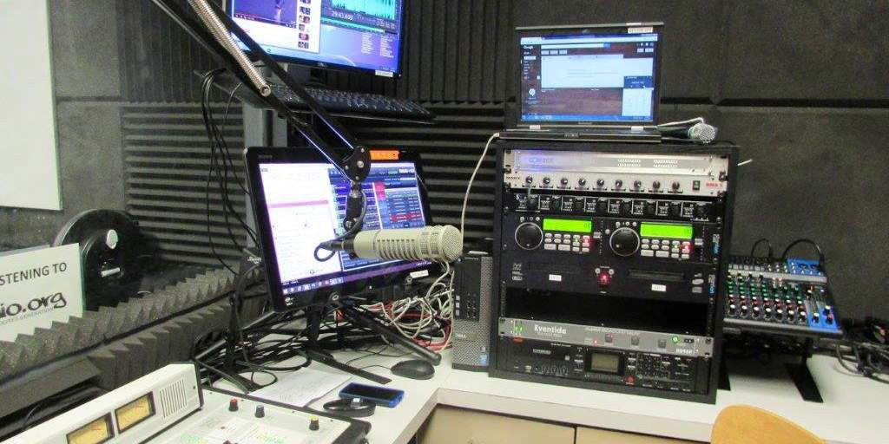 Inside YCRadio Studios 2