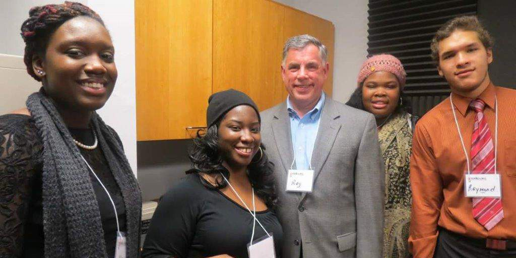 2013 Radio Crew with financial contributer Mr. Ray Warren