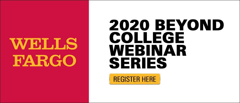 Wells Fargo Beyond College Webinars Series for York College