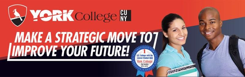 York College CUNY Make a Strategic Move to Improve your Future!
