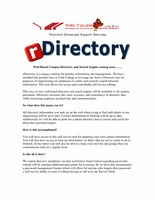 rDirectory Directory & Identity Management