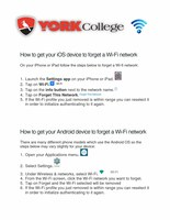 How to get your wireless device to forget a WiFi network