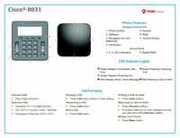 Quick Reference for Conference Phones 8831