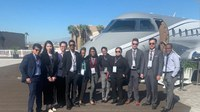 Aviation Students and Faculty Attend NBAA Conference