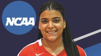Student Makes Division III History for York
