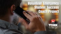 Volunteer Emergency Student Success Coach project