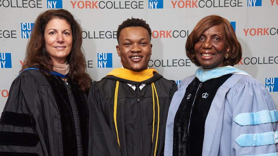 York Graduates Largest Class