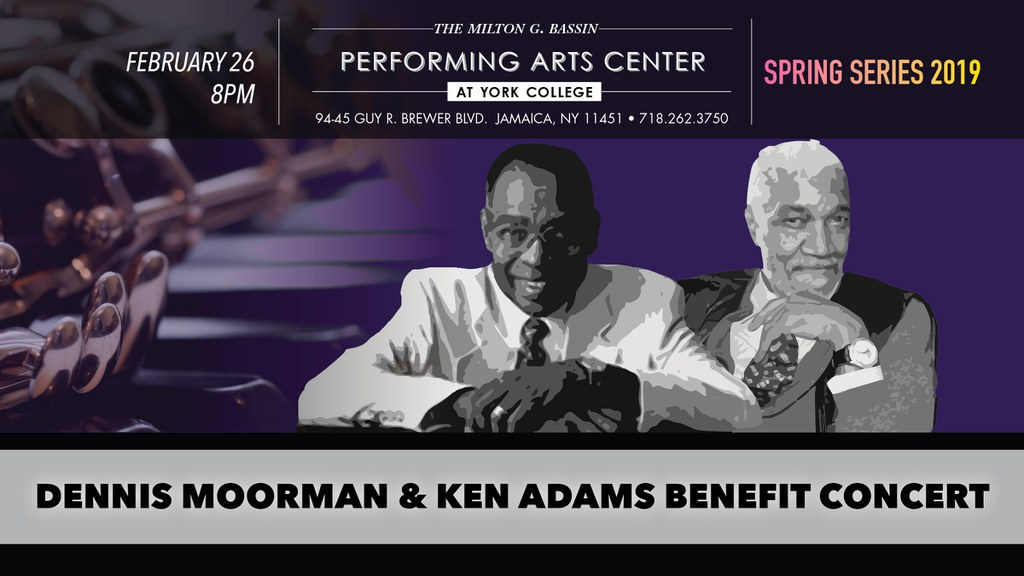 Join us for the 3rd annual Benefit Concert in Honor of Dennis Moorman and Kenneth Adams featuring performances by Music Faculty, Students, past scholarship recipients and friends of both Dennis Moorman and Kenneth Adams.