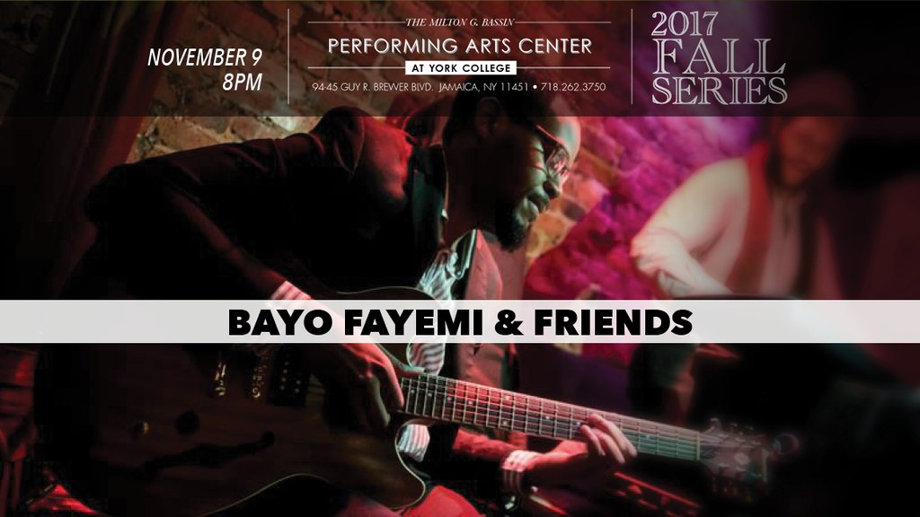 Bayo Fayemi is an up and coming guitarist/bandleader/composer.