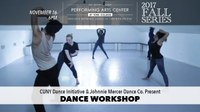 CUNY Dance Initiative: Open Rehearsal and Workshop