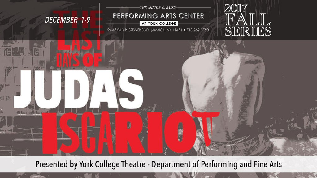 York College Theatre - Department of Performing and Fine Arts presents