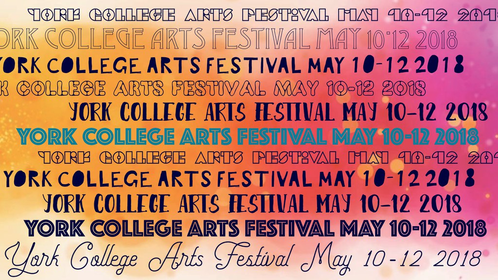 First Annual Arts Festival