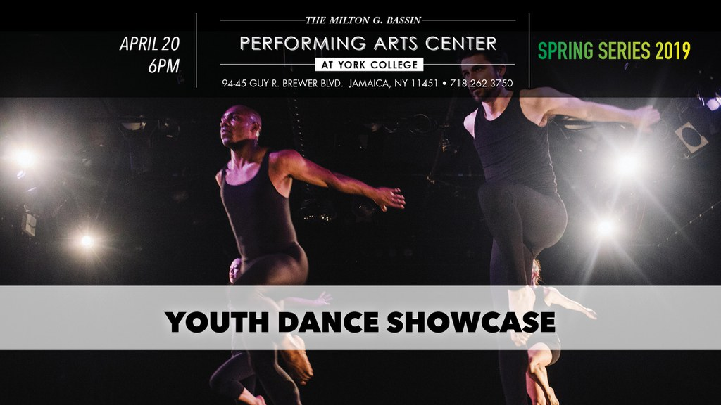 Join us for our 1st annual Youth Dance Showcase!