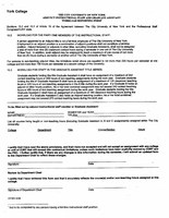 York College Adjunct Reappointment Packet