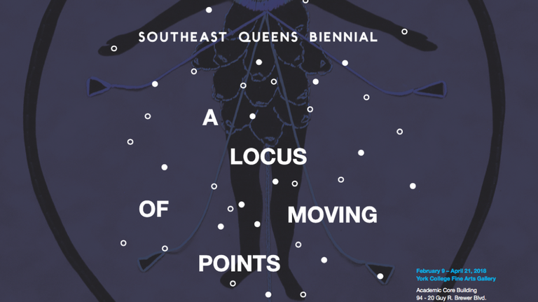 """The York College Fine Arts Gallery hosts the 2018 Southeast Queens Biennial: """"A Locus of Moving Points"""""""