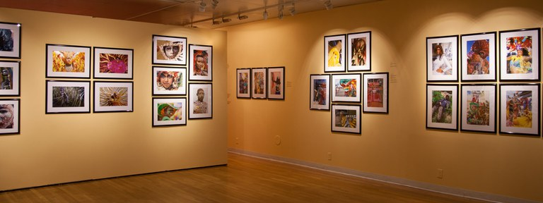 view #2 of gallery Installation looking southsouthwest, multiple photographs