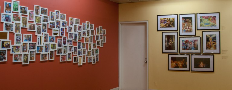 view #10 of gallery Installation looking southwest at a door, multiple photographs