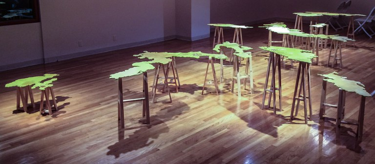 installation view 2, looking southeast