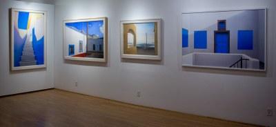 four Elena Borstein paintings