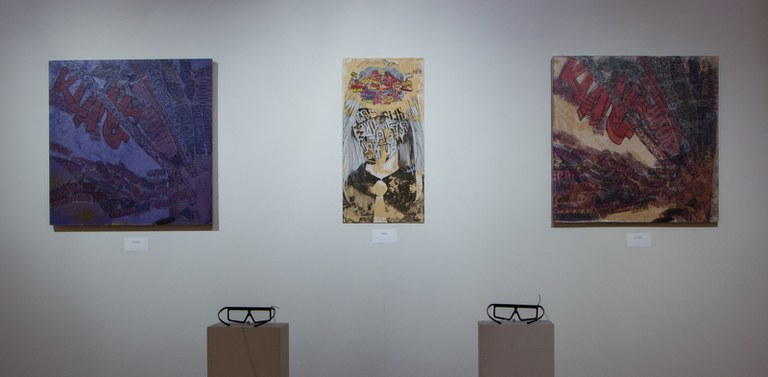 Gallery Installation view #11: looking SE, multiple 3D printed works