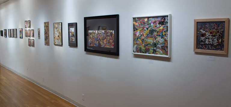 Gallery Installation view #13: looking SW, multiple works