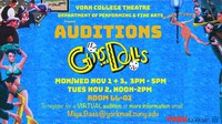 Auditions: Guys & Dolls