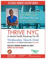 Celebrate Women's History Month-Thrive NYC: Conversation with NYC First Lady