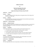 Final Charter Approved by Board of Trustees - June 29 2015