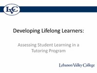 Developing Lifelong Learners Assessing Student Learning in a Tutoring Program.pdf