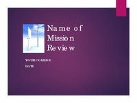 Mission Review Sample Template.pdf
