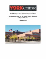 Decennial Self-Study for the Middle States Commission on Higher Education