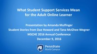 What Student Support Services Mean for the Adult Online Learner.pdf