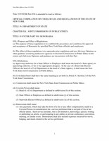 Title 19 NYCRR Part 930-Honoraria (June 2014)
