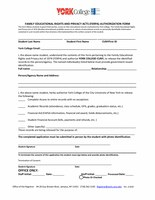 FERPA - Permission for Access to Educational Records