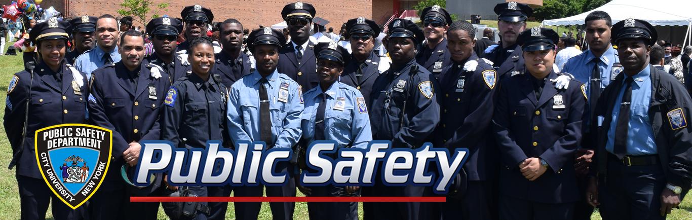 Public Safety Department City University New York