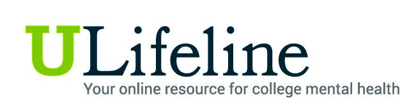 ULifeline Your online resource for college mental health