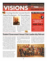 Fall 2014 Student Development Division Newsletter (repeated)