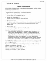 Infosheet 2 - Planning your introduction