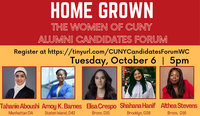 Homegrown: The Women of CUNY Alumni Candidate Forum