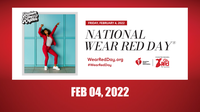 Wear Red for Women Day